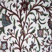 Crewel Fabric Danzdaar Node Flower Allmania