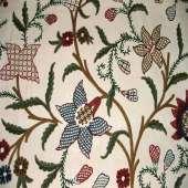Crewel Fabric C12