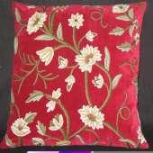 Crewel Pillow GD007