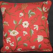 Crewel Pillow GD008