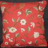 Crewel Pillow GD008