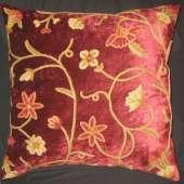 Crewel Pillow JD005
