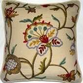 Crewel Pillow RD13