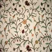 Crewel Fabric C08