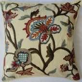 Crewel Pillow AD012